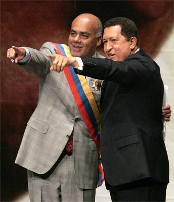 Comandante Supremo Hugo Chavez y Alcalde Jorge Rodriguez