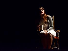 Obra del dramaturgo venezolano José Gabriel Núñez y, dirigida por Miguel Flores