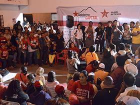 El Alcalde de Caracas Jorge Rodríguez y la Jefa de Gobierno Jacqueline Faría, realizaron la instalación del plan para la recuperación y rehabilitación de viviendas en Caracas.
