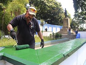 Continuando con la labor de recuperar y mantener espacios públicos