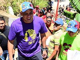 """Rodríguez: """"Ya empezamos a trabajar con los recursos que fueron aprobados en el Gobierno de Calle en Caracas por medio de nuestro Presidente Nicolás Maduro"""""""