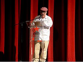 La gala estuvo  a cargo del director, guionista y dramaturgo, Néstor Caballero