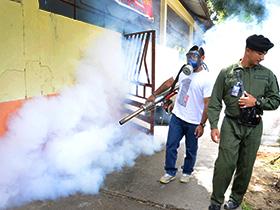 Jornada de fumigación y desratización desde la III División de Infantería del Ejército Venezolano.