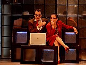 La obra de teatro llegó este sábado a divertir al público caraqueño