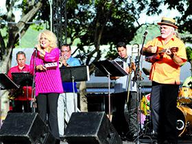 La Orquesta Sinfónica Municipal de Caracas también participó en el concierto