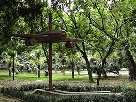 Las  obras forman parte  del Museo Ambiental que ofrece  diariamente este espacio público a sus visitantes