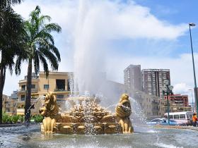 La Alcaldía y GDC hacen mantenimiento a diario a las piezas artísticas de plazas, parques y bulevares
