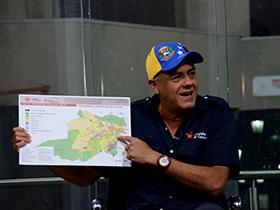 El Alcalde del Municipio Bolivariano Libertador presentó sus  proyectos y propuestas para las elecciones del 8 de diciembre.