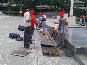 La Corporación de Servicios Municipales Libertador sigue trabajando por una Caracas más bella