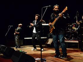 Agrupación de rap venezolana que llenó liricas y rimas al Teatro.