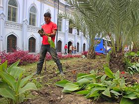 Continuando con el proceso de rehabilitación y mantenimiento de más de un millón de espacios recuperados para la ciudadanía