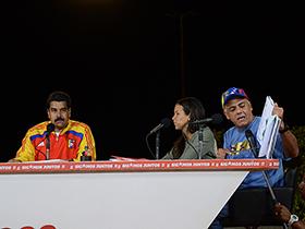 El Presidente Nicolás Maduro, realizó el anuncio en compañía del Alcalde de Caracas Jorge Rodríguez.