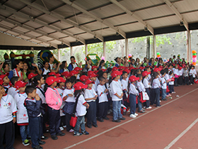 Casi 700 niños y niñas entre 05 y 06 años disfrutaron de paseos por sitios turísticos, dinámicas deportivas, ricas meriendas, juegos didácticos y actividades recreacionales