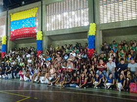 Entes gubernamentales juntos por el deporte y la recreación de Caracas.