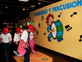 Los pequeños han visitado diversos espacios que ofrece la ciudad capital.