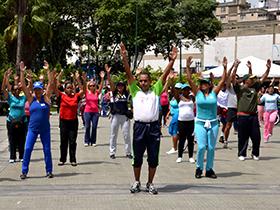 Actividades simultáneas en los circuitos Los Símbolos, Parque de los Caobos y la avenida el Cuartel
