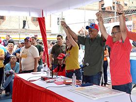 El Presidente de la República, Nicolás Maduro, aprobó un total de 100 millones de bolívares para la ejecución de Barrio Nuevo, Barrio Tricolor en la comunidad de Cotiza
