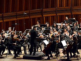 Con piezas de Mozart y Beethoven alegraron al público presente