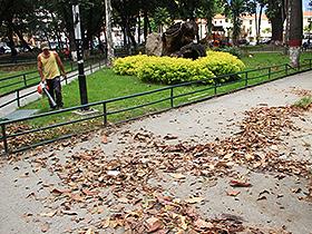 Rescatando plazas y monumentos emblemáticos de la ciudad