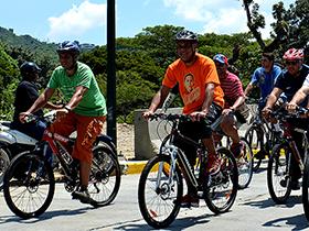 El circuito de ciclovía abre nuevamente las puertas al deporte y lo impulsa a través de un medio de transporte alternativo y ecológico.