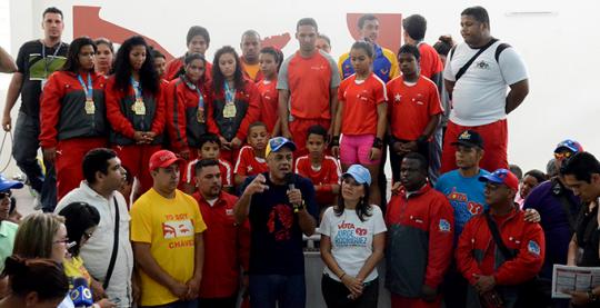 Jorge Rodríguez inaugura nuevo espacio para el deporte en Macarao
