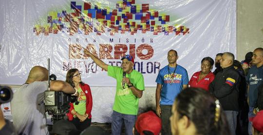 Misión Barrio Nuevo, Barrio Tricolor atenderá 67% de los barrios de Libertador