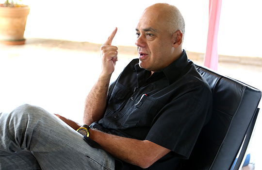 Jorge Rodríguez dio una entrevista al diario El Nacional