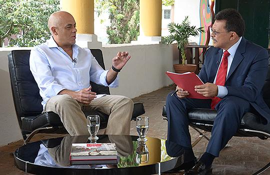 """Jorge Rodríguez habló para el programa """"Venezuela en la Red"""" del Canal I"""