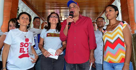 Jorge Rodríguez en jornada de entrega de ascensores en parroquia El Paraíso