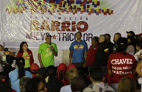 Jorge Rodríguez realizó asamblea popular con todas las fuerzas revolucionarias del sector La Silsa