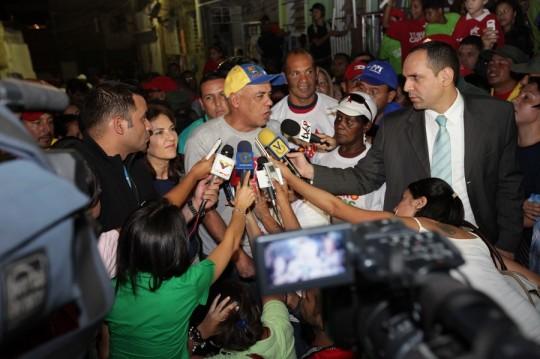 Jorge Rodríguez impulsa la Gran Misión Barrio Nuevo, Barrio Tricolor en La Vega