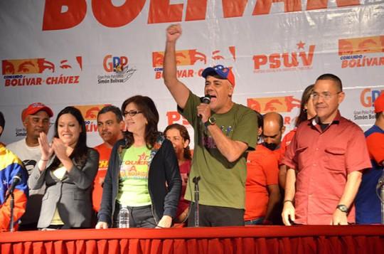 Jorge Rodríguez se reunió con las Unidades de Batalla Hugo Chávez de toda la capital