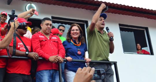 Familias del sector Hierbabuena cambiaron sus ranchos por viviendas dignas