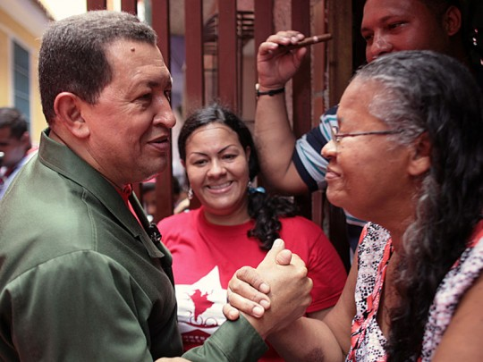 Comandante Supremo Hugo Chávez