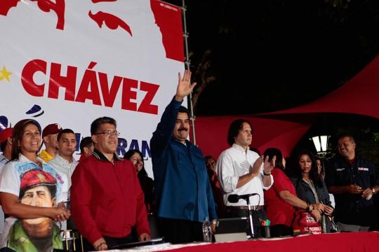 Nicolás Maduro en Los Teques
