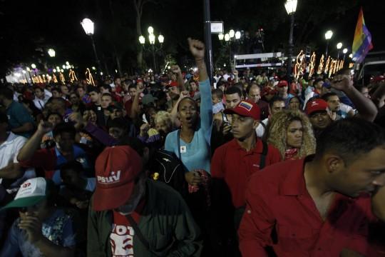 Amor y lealtad se impusieron en Caracas