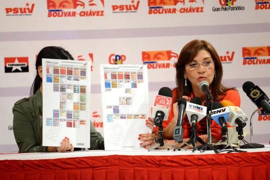 Primer Reporte del Comando de Campaña Bolívar-Chávez Elecciones Municipales 8D