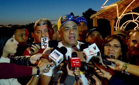 Fiesta de la Democracia en Caracas inició en la Plaza 4F