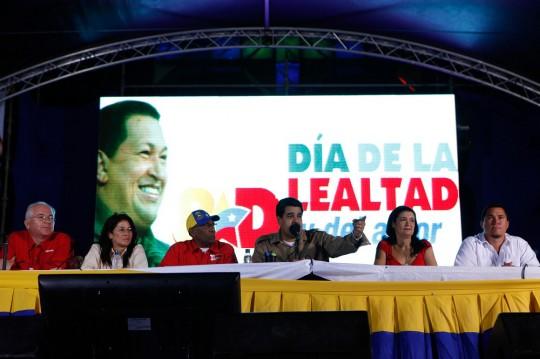 Nicolás Maduro participó en acto con alcaldes electos de Anzoátegui