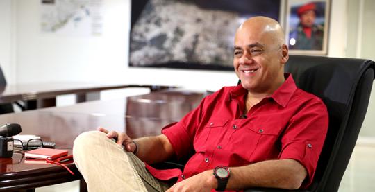 Jorge Rodríguez en entrevista al Diario Últimas Noticias