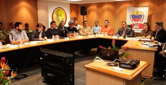 Alcalde de Caracas participa en reunión de seguridad en el MPPRIJP
