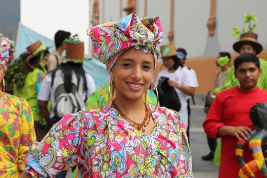 El grito de carnaval retumbó en Caracas