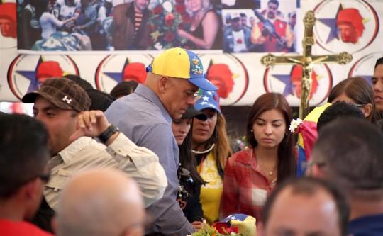 Alcalde de Caracas acompañó a familiares de Montoya