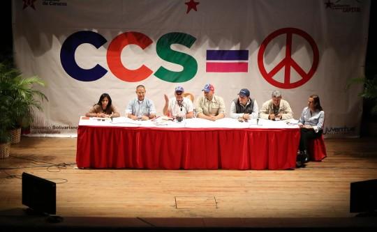 Caracas decretada territorio de paz