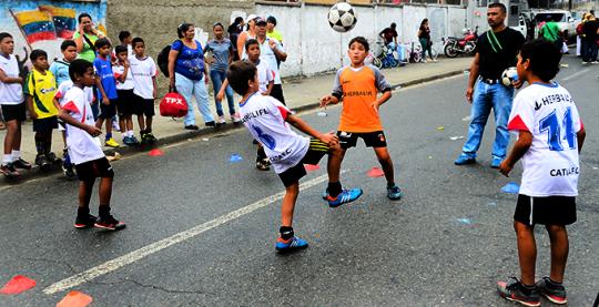 Caracas rueda libre avenida cuartel 2