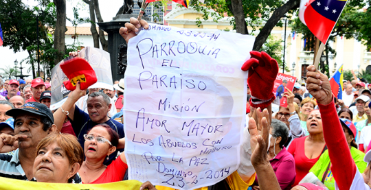 Concierto x la paz plaza bolivar 1