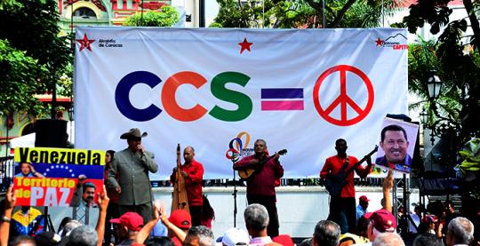 Concierto x la paz plaza bolivar  6