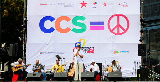 Concierto x la paz plaza venezuela
