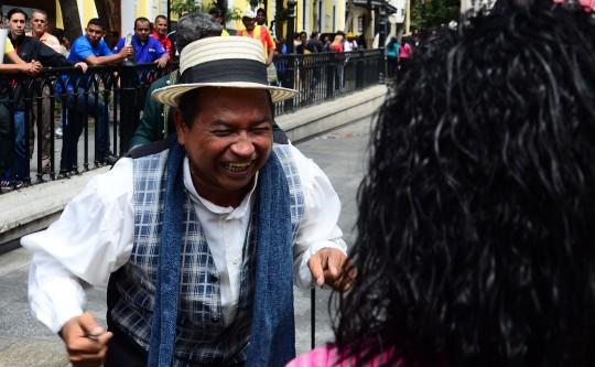 """""""Ruta Estampas de Caracas"""" sigue ilustrando al pueblo caraqueño"""