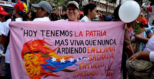 Marcha de Muejeres por la Paz 1